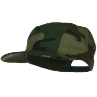 Ball Cap - Camo 5 Panel Camouflage Twill Cap