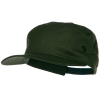 Ball Cap - Olive 5 Panel Camouflage Twill Cap