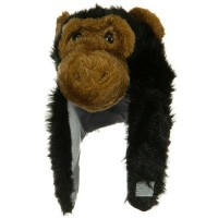 Costume - Ape Kids Flush Animal Hat