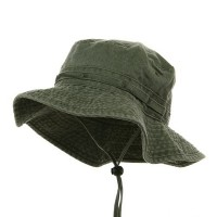 Outdoor - Olive Youth Fishing Hat (2) | Coupon Free | e4Hats.com