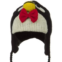 Costume - Penguin Toddler Animal Wool Ski Hat