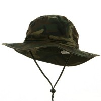 Outdoor - Camo Youth Washed Hunting Hat