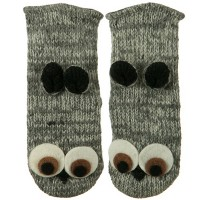 Glove - Owl Adult Animal Wool Mitten