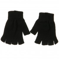 Glove - Black Fingerless Magic Glove