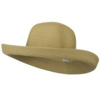 Outdoor - Tan UPF 50+ Cotton Kettle Brim Hat