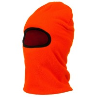 Face Mask - Blaze Orange Heavyweight Fleece Mask