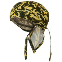 Wrap - Yellow Choppers Headwrap