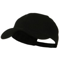 Ball Cap - Black Big Size Deluxe Cotton Cap