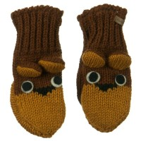 Glove - Bear Child Animal Wool Mitten