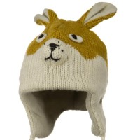 Costume - New Rabbit Punk Monkey Wool Ski Beanie