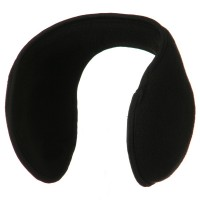 Warmer - Black Solid Ear Muff