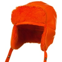 Trooper - Orange Orange Vinyl Trooper Hats