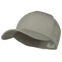 Ball Cap - Grey XL Fitted Cotton Blend Cap