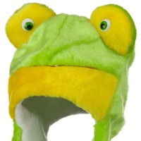 Costume - Frog Polyester SW Animal Hat