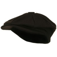 Newsboy - Brown Big Size Melton Apple Newsboy Hat