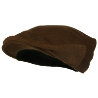 Ivy - Brown Big Wool Velvet Ivy Cap