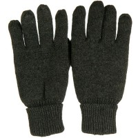 Glove - Charcoal Grey Men's Suede Wool Glove