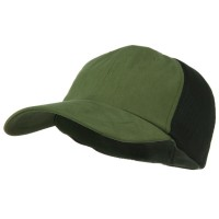 Ball Cap - Olive Green Big Size Summer Mesh Flexible Cap