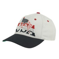 Embroidered Cap - Youth Flag Cap | Free Shipping | e4Hats.com