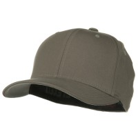 Ball Cap - Grey V-Flexfit Cotton Twill Cap