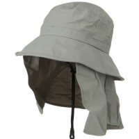Outdoor - Grey UV 50+ Talson Flap UV Bucket Hat