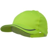 Ball Cap - Yellow 6 Panel Poly Twill Safety Cap