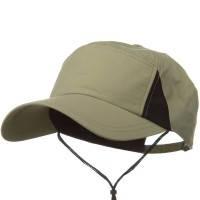 Ball Cap - Khaki UV 50+ Patch Outdoor Talson Cap