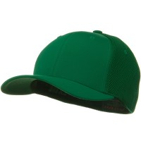 Ball Cap - Green Flexfit Ultrafiber Mesh Cap