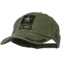 Embroidered Cap - 3rd Infantry Pigment Dyed Cap | Free Shipping | e4Hats.com