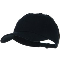 Ball Cap - Navy Vintage Cotton Polo Cap