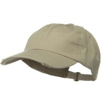 Ball Cap - Stone Vintage Cotton Polo Cap