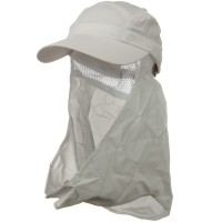 Outdoor - White UV 50+ Talson Removable Flap Cap