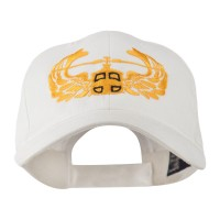 Embroidered Cap - White Air Assault Badge Embroidery Cap
