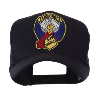 Embroidered Cap - 504 Airborne Patch Cap