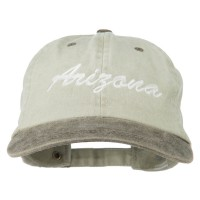 Embroidered Cap - Arizona Embroidered Cap | Free Shipping | e4Hats.com