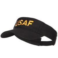 Visor - USAF Embroidered Washed Visor | Free Shipping | e4Hats.com