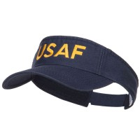 Visor - Navy USAF Embroidered Washed Visor