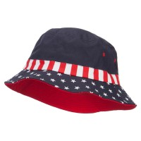 Bucket - Flag USA Flag Bucket Hat