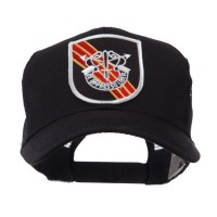 Embroidered Cap - Special Force US Army Shield Patch Mesh Cap
