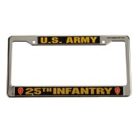 Plate, Frame - 25th Army 3D License Plate Frame
