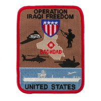 Patch - Red Blue Operation Patches