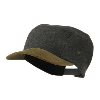Ball Cap - Grey Adjustable 4 Panel Baseball Cap