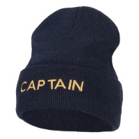 Long Beanie - Captain Embroidery ECO Beanie