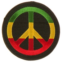 Patch - Peace RGY Assorted Rasta Patch