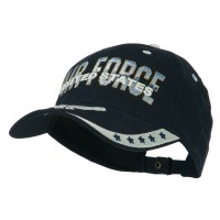 Ball Cap - White Air Force Extreme Embroidery Cap