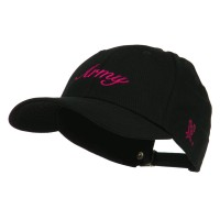 Embroidered Cap - Pink US Army Women's Military Cap