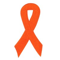 Patch - Orange Awareness Ribbon Patches