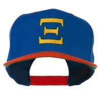 Embroidered Cap - Alphabet Xi Embroidered Classic Two Tone Cap | Free Shipping | e4Hats.com