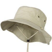Outdoor - Stone Big Size Cotton Australian Hat