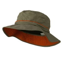 Bucket - Big Size Adjustable Talson Bucket Hat | Free Shipping | e4Hats.com